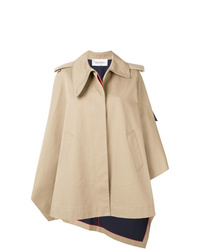 Valentino Asymmetric Cape Jacket