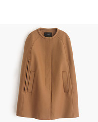 J.Crew Cape Jacket In Wool Melton