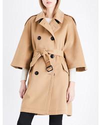 Burberry Dennington Wool And Cashmere Blend Coat