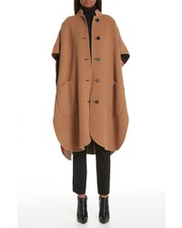 Burberry Reversible Wool Blend Poncho