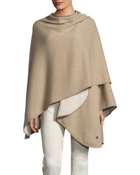Short regina cashmere cape medium 4380943