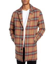Zanerobe Ny Plaid Melton Coat