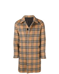Burberry Vintage Check Car Coat