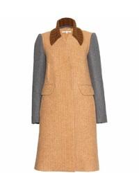 Carven Alpaca And Wool Blend Coat