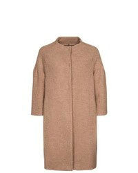 Alysi Classic Coat Brown