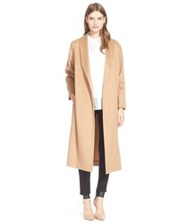 Ayr The Robe Camel Hair Maxi Coat