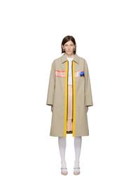 Miu Miu Beige Mac Coat