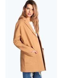 Boohoo Lilly Oversized Wool Look Boyfriend Coat