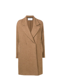 Harris Wharf London Boxy Double Breasted Coat