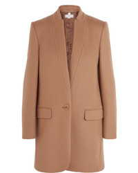 Stella McCartney Bryce Wool Blend Coat Camel