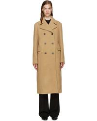 3.1 Phillip Lim Camel Wool Long Car Coat