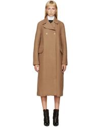 3.1 Phillip Lim Camel Wool Merrow Edge Coat