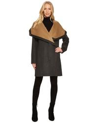 Vince Camuto Cascading Wool Coat N8511 Coat