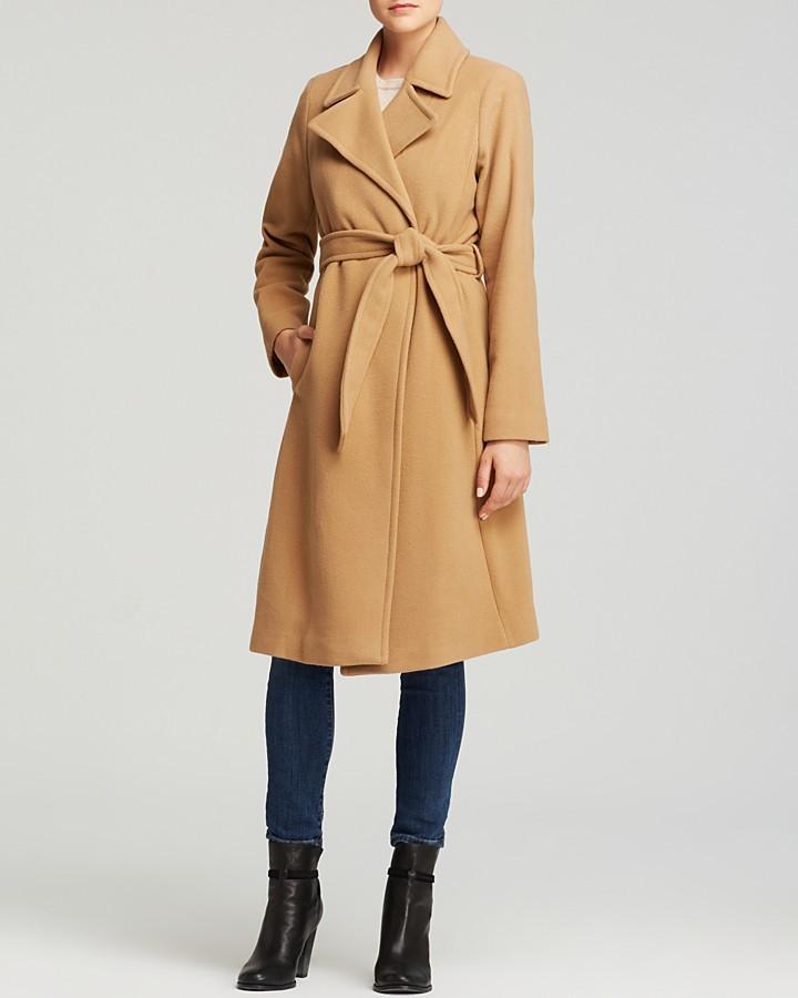 61004e28486d ... Lauren Ralph Lauren Cecile Wool Blend Blanket Wrap Coat ...