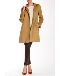 Cinzia Rocca Due 34 One Button Wool Blend Coat