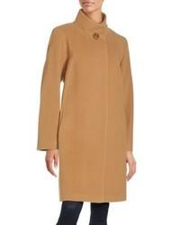 Cinzia Rocca Long Sleeve Mockneck Coat