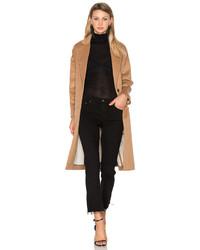 Hoss Intropia Coat In Tan