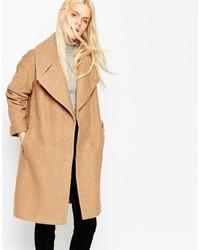 Asos Collection Coat In Oversized Fit With Turn Back Cuff