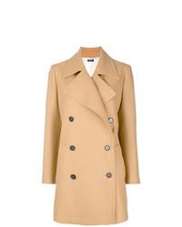 Jil Sander Navy Double Breasted Coat