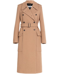 Jil Sander Double Breasted Wool Coat