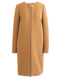 J.Crew Double Cloth Collarless Coat