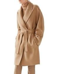 Gucci Double Wool Wrap Coat