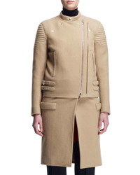Givenchy Double Zip Long Moto Coat