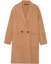 Theory Eletkah Felted Wool And Cashmere Blend Coat
