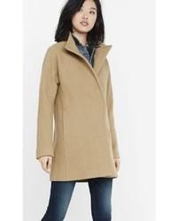 Express Textured Cocoon Coat