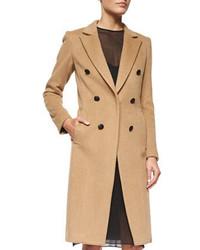 Rag & Bone Faye Camel Hair Button Coat
