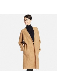 Uniqlo Felted Wool Long Coat
