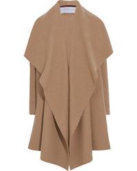 Harris Wharf London Draped Wool Felt Coat Camel