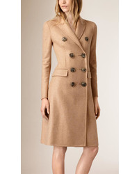 Burberry High Waist Cashmere Coat