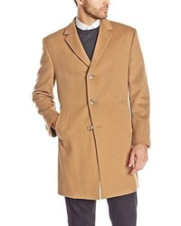Kenneth Cole New York Reaction Raburn Wool Blend Top Coat
