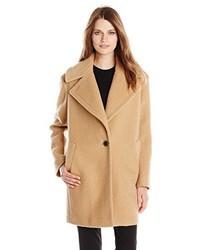 Kensie Wool Blend Cocoon Coat