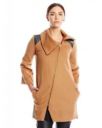 Kim Mesches Wool Coat 8 Camel