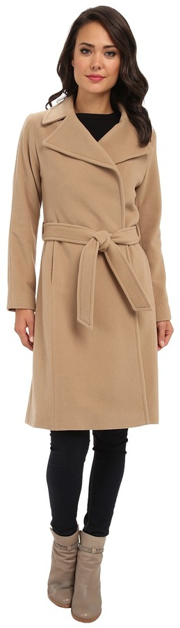 lower price with top fashion details for $340, Lauren Ralph Lauren Lauren By Ralph Lauren Cashmere Blend Wrap Coat