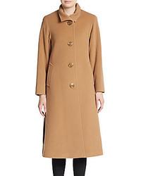 Cinzia Rocca Long Wool Blend Coat