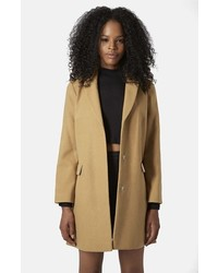 Topshop Maisie Slim Brushed Coat