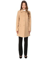 Kate Spade New York 4 Button A Line Single Breasted Coat W Bow Pockets Coat