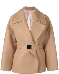 No21 belted coat medium 4424231