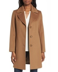 Notch collar wool walking coat medium 5255990