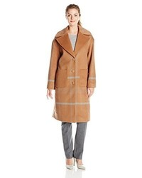 Pendleton Long Plaid Coat