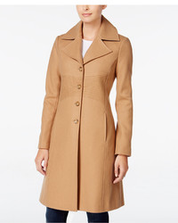 Tommy Hilfiger Petite Wool Blend Walker Coat