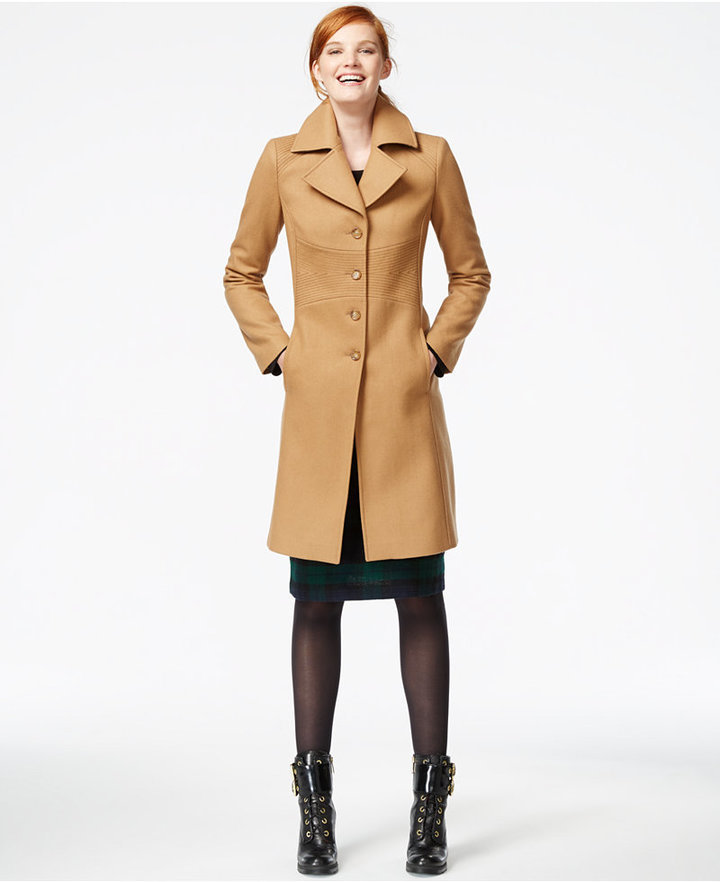 Tommy Hilfiger Petite Wool Blend Walker Coat | Where to buy & how ...