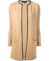Ralph Lauren Black Cardi Coat