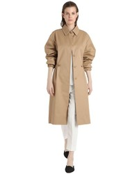 René Storck Single Breasted Cotton Coat