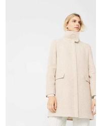 Mango Ring Wool Coat