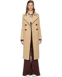 See by Chloe See By Chlo Beige Wool Long Coat