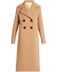 See by Chloe See By Chlo Double Breasted Wool Blend Coat